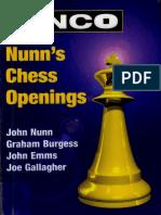 John Nunn Et All - NCO Nunn's Chess Opening