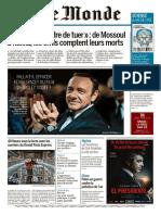 Le Monde Du Mercredi 27 D Cembre 2017