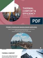 4. PPT Thermal Comfort Efficiency