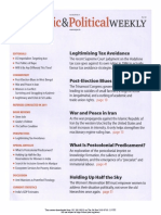 Economic and Political Weekly Vol. 47, No. 9, MARCH 3, 2012