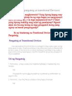 ARALIN 1 PANATNIG AT TRANSITIONAL DEVICES.docx