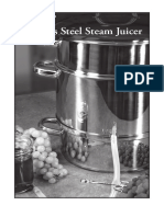 Steam Juicer Manual