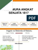 Pattimura Angkat Senjata 1817