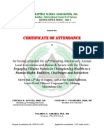 Certificates of ATTENDEES .docx
