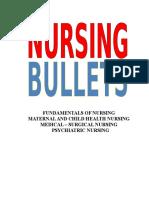 Nursing Bullets