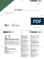 Manual KDX151