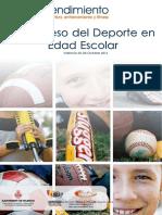 Congreso del deporte en edad escolar