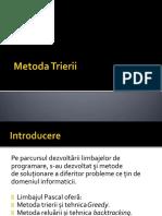 Metoda Trierii