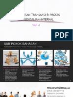 Pemrosesan Transaksi & Proses Pengendalian Internal Sap 4