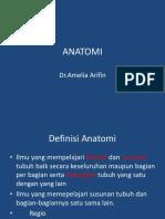 ANATOMI PENDAHULUAN
