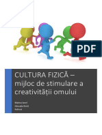 referat-educatia-fizica cultura fizica mijloc de stimulare a creativitatii omului