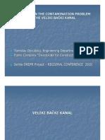 Solution on the Contaminatio Problem in the Veliki Backi Kanal