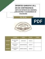 Plan de Contingencia Garufa 2014 10.09.14