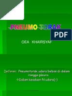 Pneumotorak, okt 2013 baru.ppt