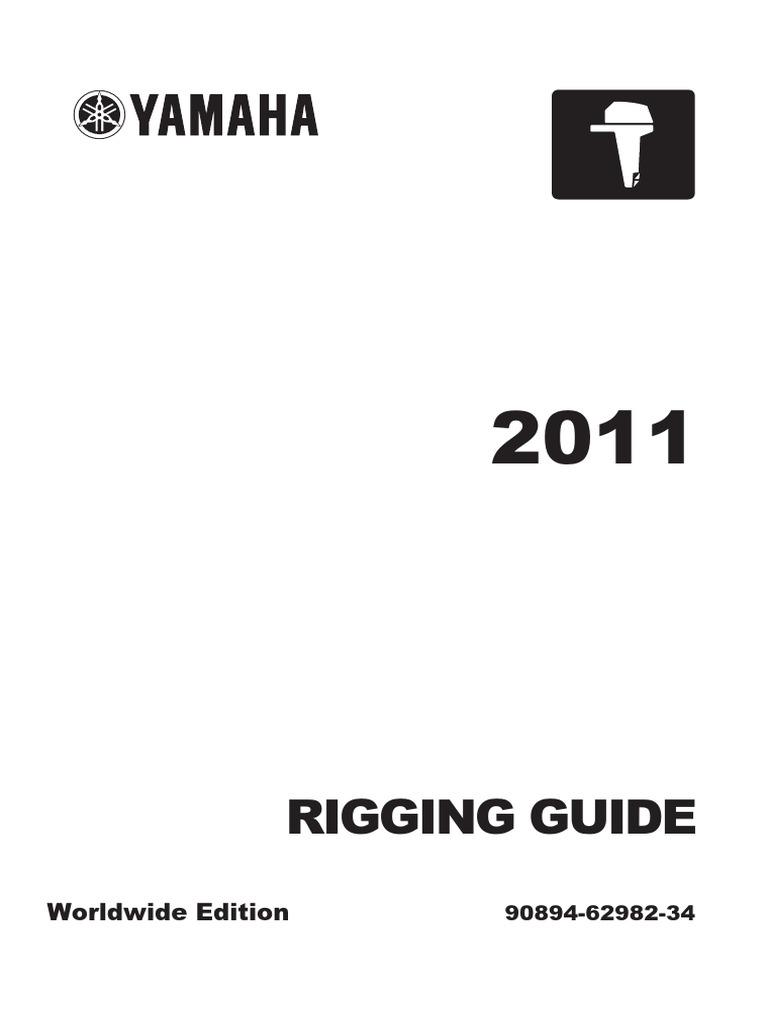 101451427-Rigging-Guide-Yamaha-Outboard-Motors-2011 pdf | Maquinas
