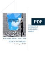 Personal breakthrough session workbook