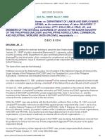 Diamonon vs Dept of Labor & Employment _ 108951 _ March 7, 2000 _ J. de Leon, Jr. _ Second Division