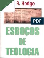 A. A. Hodge - Esboços de Teologia  PT.1.pdf