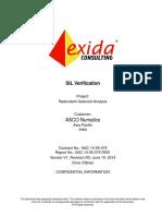 ASC Q14!5!075 R001 V1R3 Redundant Solenoid SIL Verificaiton Report