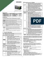 FD-Q manuel