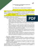 Texto_Adaptacao e Principios Gerais Do Treinamento