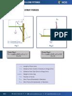 WDS Gas Strut Calculation Strut Forces