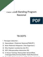 Hasil Studi Banding Program Nasional
