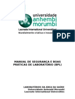 Manual de boas práticas de laboratorio
