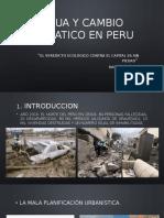Agua y Cambio Climatico en Peru