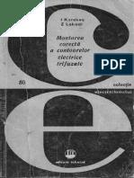 Montarea Corecta a Contoarelor Electrice Trifazate - i. Kerekes (1975)
