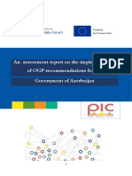 An Alternative Assessment Report of OGP Recommendations