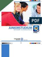 Broschuere des Juniorstudiums Rostock 2010