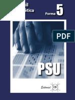 Facsimil PSU de Matematicas