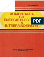 Alimentarea Cu Energie Electrica a Intreprinderilor - i. Iordanescu, Gh. Iacobescu (1979)