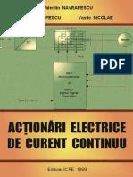 Actionari Electrice de Curent Continuu -Valentin Navrapescu (1999)