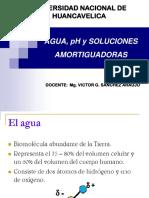 Agua, Ph y Soluciones Amortiguadoras