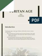 [History of Literature] Puritan Age