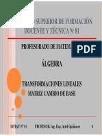 04 - TL - Matriz Cambio de Base