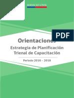 01. Orientaciones Estrategia Planificación Trienal Capacitación