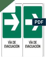 Vias de Evacuación