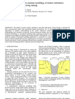 Block Caving Subsidence Modeling   ///  for more info link to