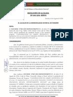 modelo Resolucion de Alcaldia