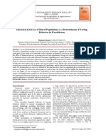 [22560939 - Rural Sustainability Research] Financial Literacy of Rural Population as a Determinant of Saving Behavior in Kazakhstan