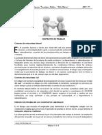 1ra Clase Contratos Relación Laboral