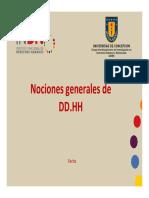 nociones generales de los ddhh