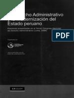 D° administrativo y modernizacion de estado peruano (PUCP)