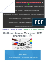 HRM MCQs | Human Resource Management MCQs
