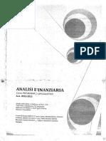 ANALISI FINANZIARIA (specialistica)