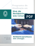 Ano1 II.antibioticoprofilaxia Em Cirurgia