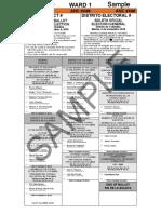 November 6 2018 General Election Sample Ballots